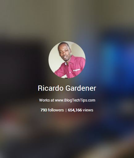 Google Plus new profile and content views counter