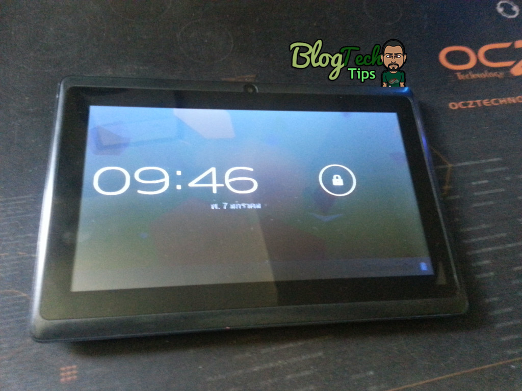 tablet stuck on android screen