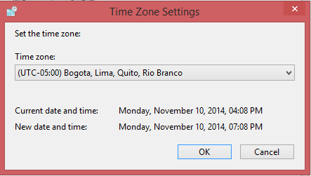 windows time keeps changing