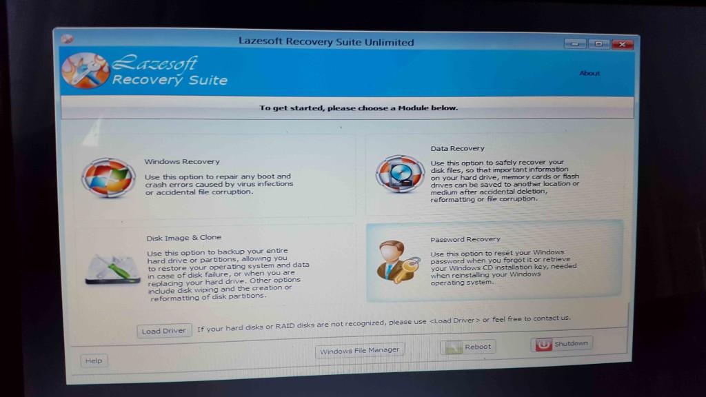 windows password recovery tool