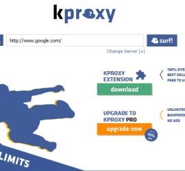 web based proxy