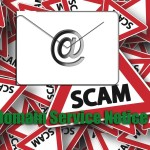 Domain Service Notice Scam e-mail