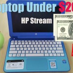 Laptop Under 200: HP Stream