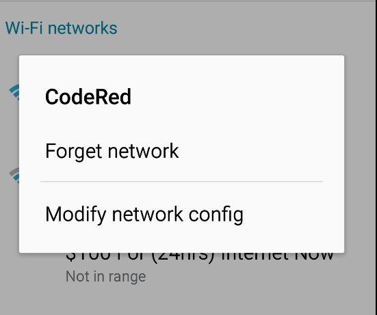 wifi authentication problem