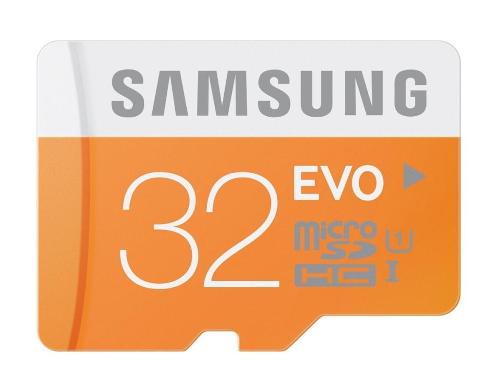 Samsung 32GB EVO Class 10 MicroSD