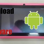 Find and download Chinese tablet Firmware