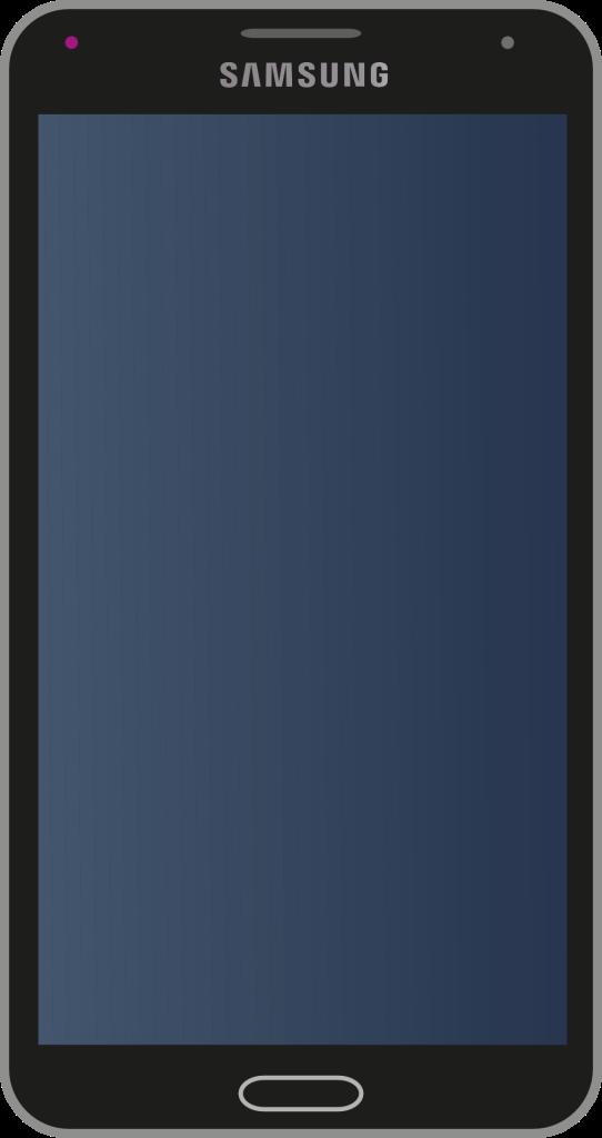 note 4 black screen