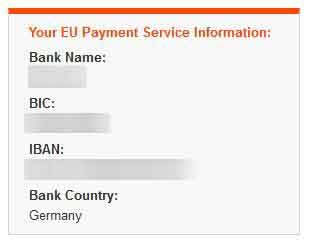 UK direct deposit