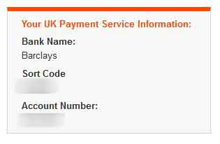 Payoneer UK direct deposit