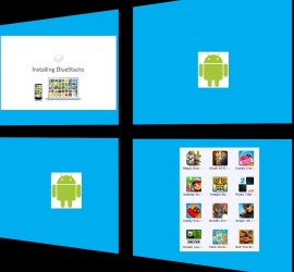 Windows and android apps