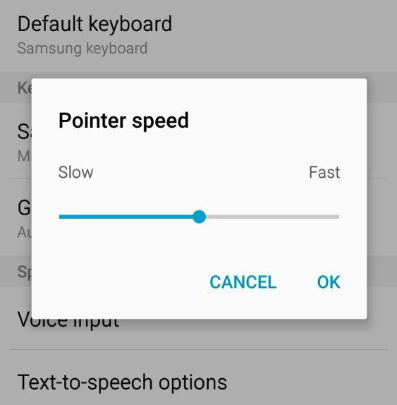 Samsung Galaxy S6 Touchscreen Sensitivity