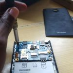 Doogee dagger DG550 disassembly and LCD replacement