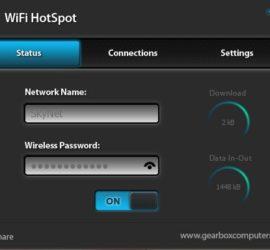 create a WiFI Hotspot
