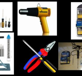 Electronics repair tools