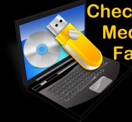 checking media fail