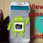 How to view WiFi password Android?