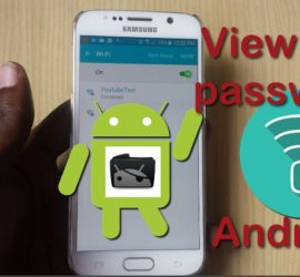 view wifi password android