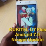 A look at OUKITEL U7 Plus Android 7.0 Nougat Update new Features