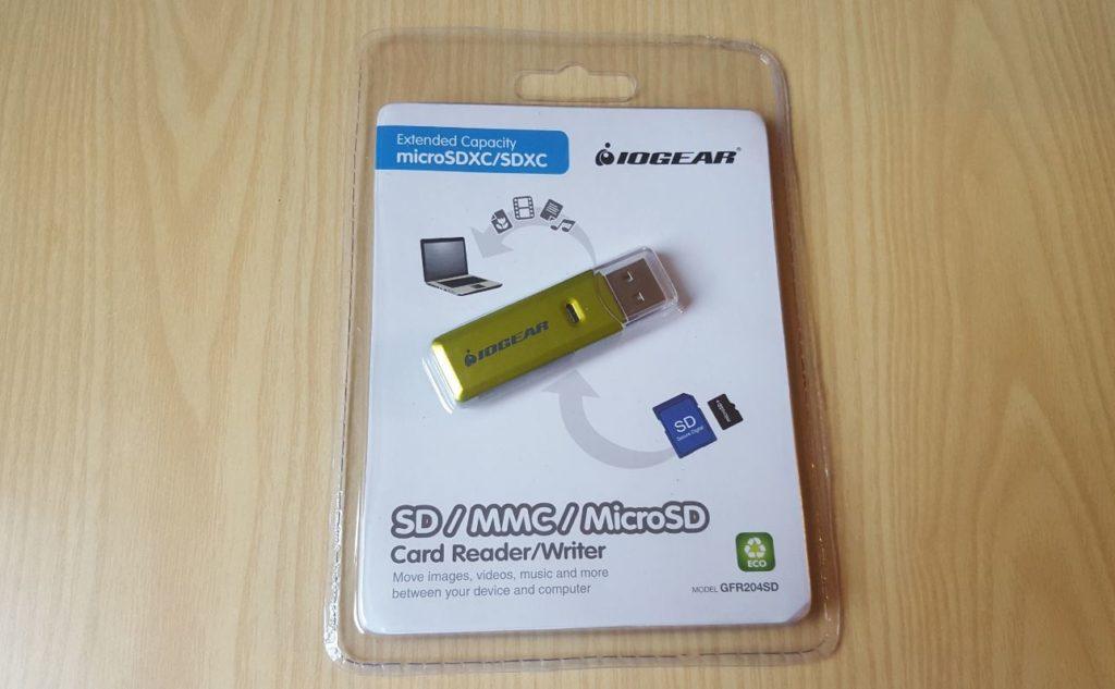 IOGEAR SD/MicroSD/MMC Card Reader/Writer