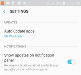 How To Disable Samsung Galaxy Apps Auto Update