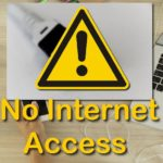 How to Fix Yellow Triangle or No Internet Access
