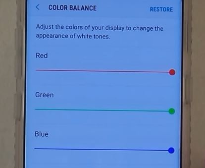 Galaxy S8 RED SCREEN Defect Problem