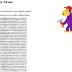 YouTube 500 Internal Server Error sorry,something went wrong