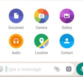 Whatsapp new Features Share any file