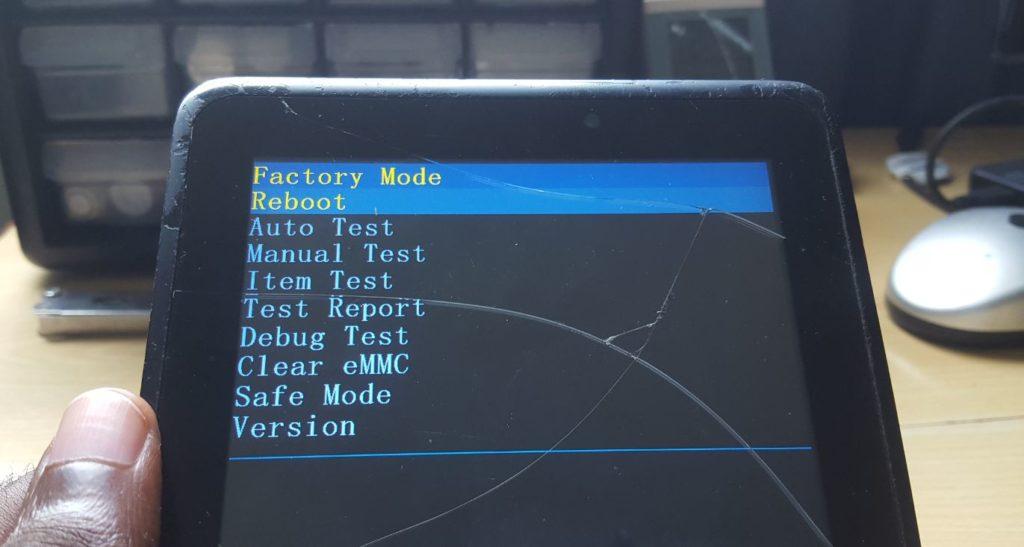 Verizon 4g LTE omv7a Tablet Hard Reset