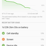 Severe battery drain caused by Cell standby Samsung Galaxy S8,S7,S6 Fix