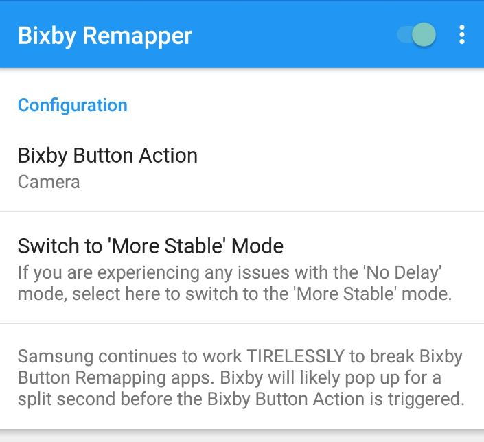 Remap the Bixby Button Updated