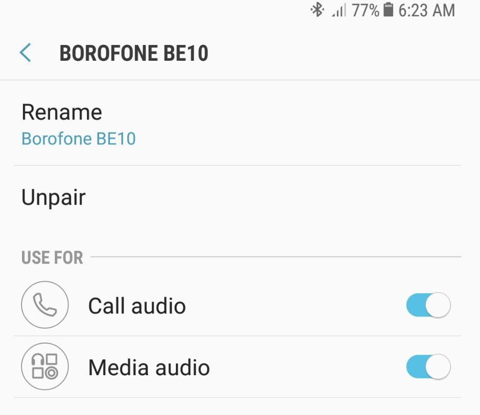 Borofone BE10 Transformer Wireless Earphone