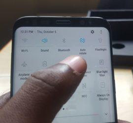 Auto Rotate Problem Galaxy S8