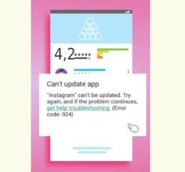 Instagram update problem Fix