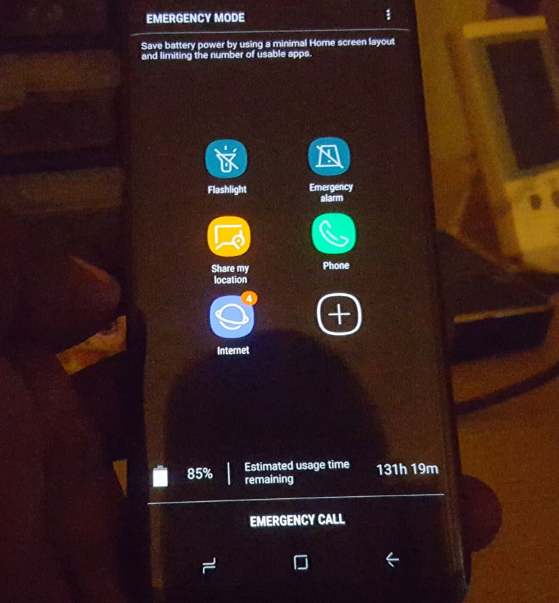 How to Activate Emergency Mode Galaxy S8