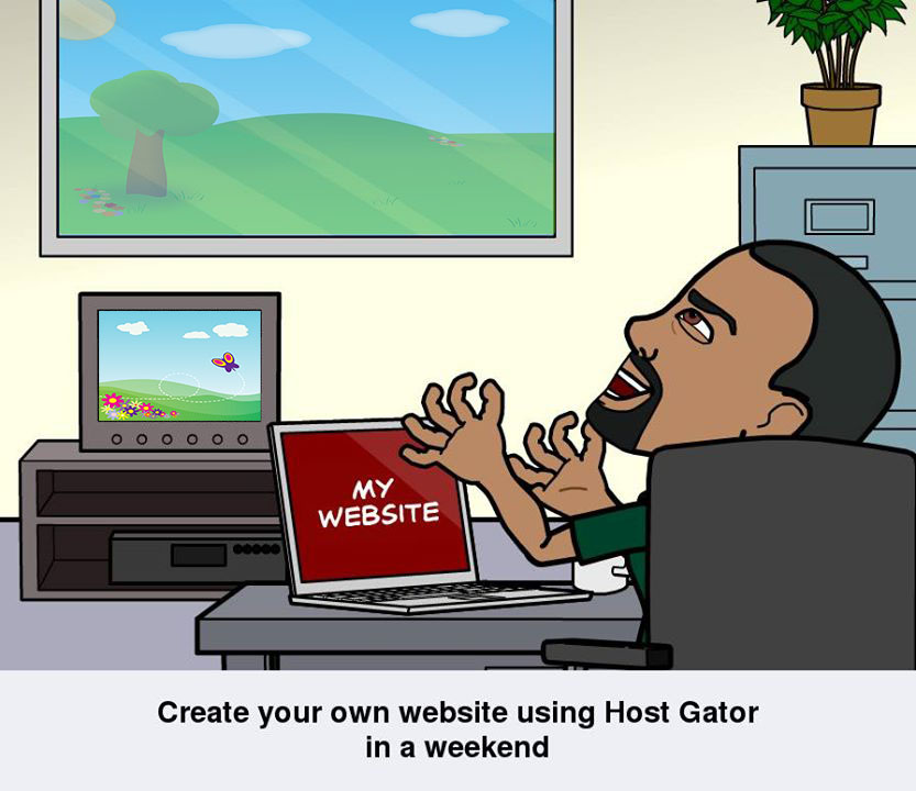 create your own website using host Gator in a weekend