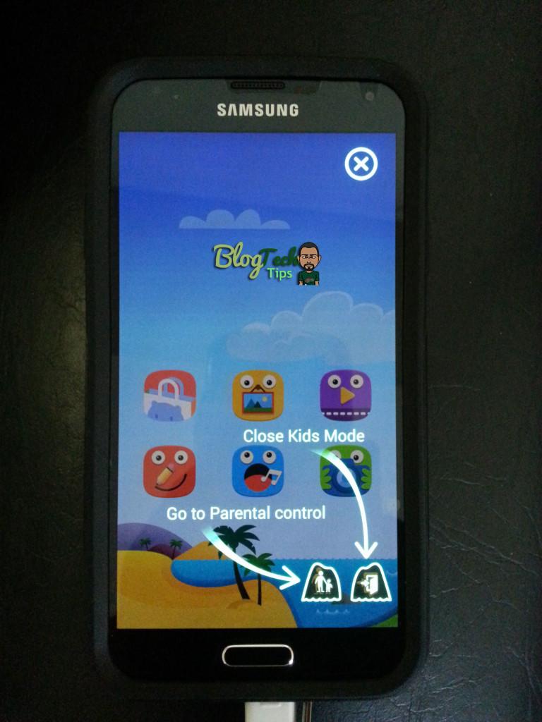samsung galaxy s5 kids mode