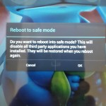 How to turn on or turn off safe mode on your Tablet?