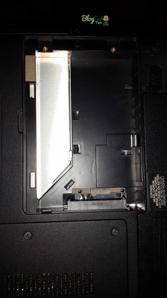replacing laptop hard drive
