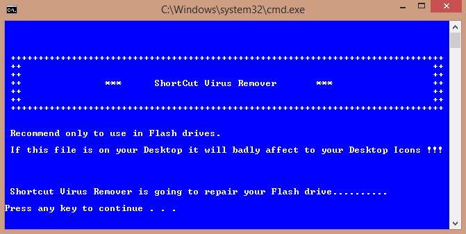 How to remove shortcut virus? - BlogTechTips