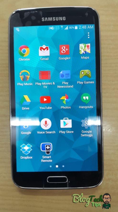 Samsung Galaxy S5 5 0 Lollipop for SM-G900F Manual
