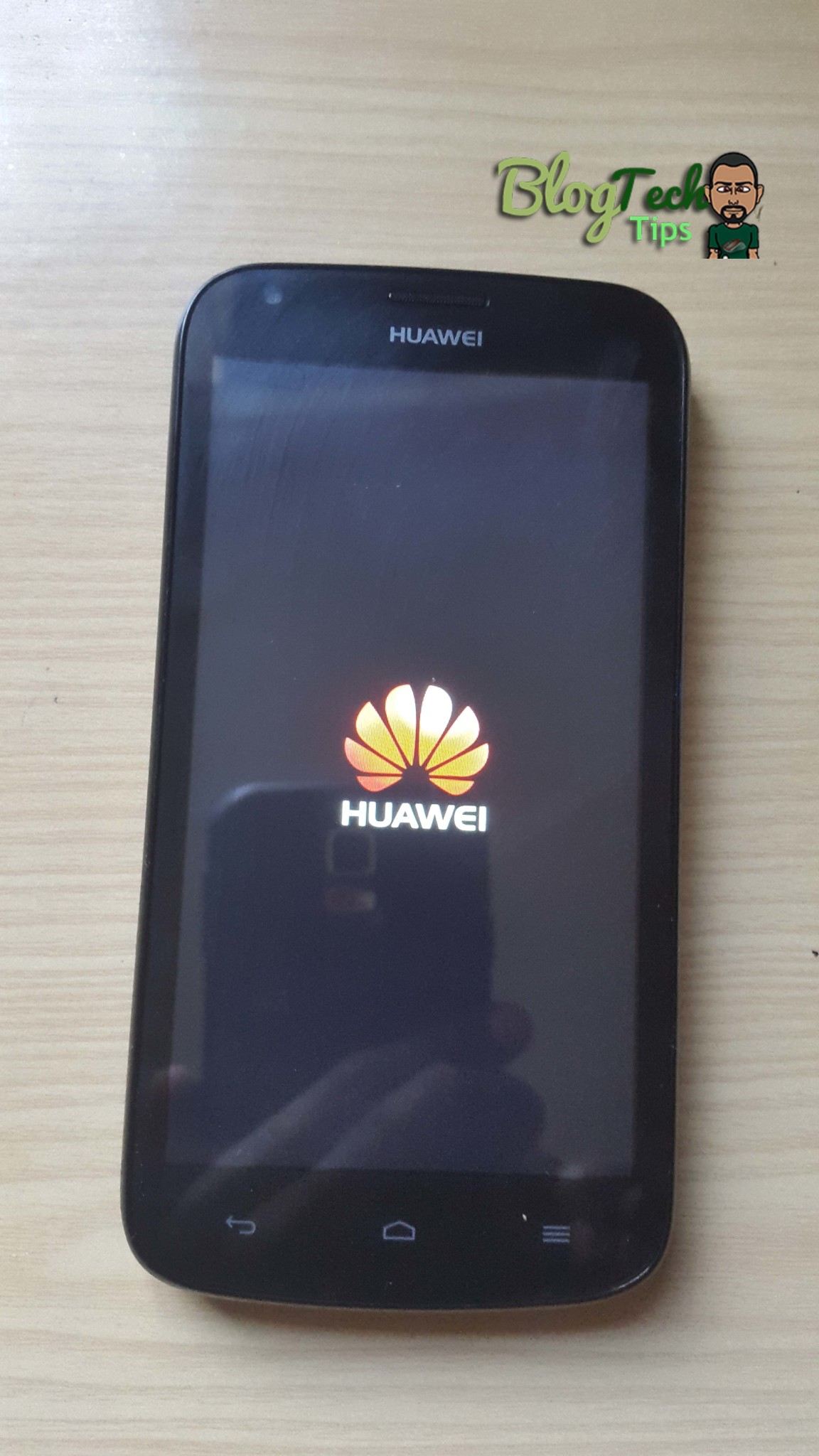 Huawei Android Phone Stuck on startup or not accepting
