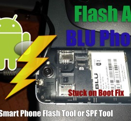 smart phone flash tool