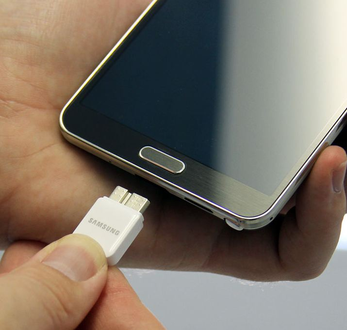 galaxy s5 not charging