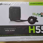 Corsair Hydro Series H55 Liquid CPU cooling system Review