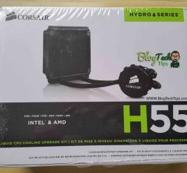 corsair hydro series h55 liquid cpu cooling system