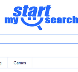 how to remove mystart search