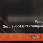 Secure boot is not configured correctly Error Fix