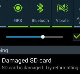 damaged sd card android