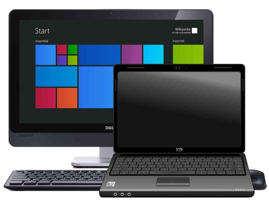 my laptop screen is black